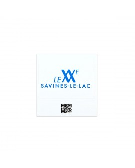 "Magnet Photo Vintage ""Savines-Le-Lac-Logotype"""